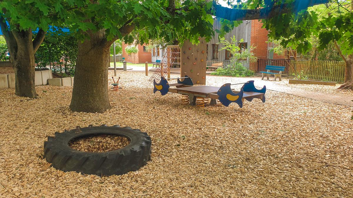 Unser Spielplatz zum gemeinsamen Toben