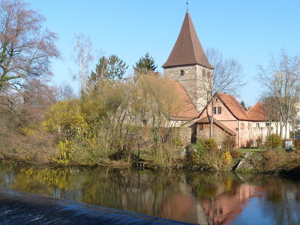 Kirche Katzwang Panorama